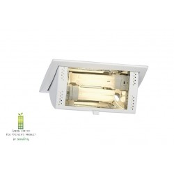 Inbouwlamp downlight TC-DL 2x 13W EVG wit
