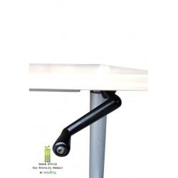 Gispen slingerverstelbaar bureau 160x80