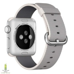 Apple Watch bandje MMAG2ZM/A 38MM Pearl geweven nylon