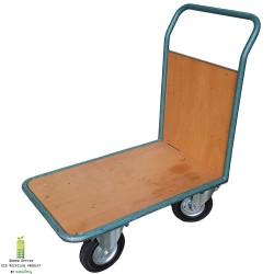 Platformwagen,  plateauwagen, magazijnkar met duwbeugel L