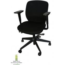 Orangebox bureaustoel zwart