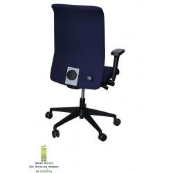 Ergonomische NEN bureaustoel blauw